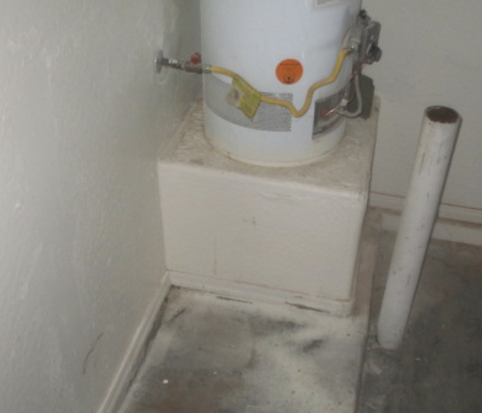 Water heater Leak After