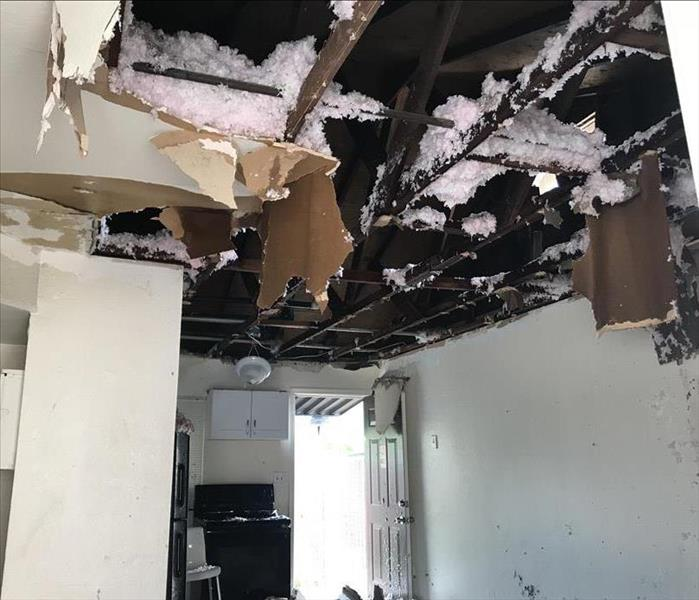 Fire Damage To Ceiling